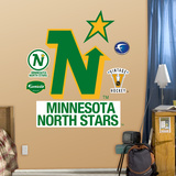 Minnesota North Stars Classic Logo   Wall Decal