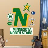 Minnesota North Stars Classic Logo  Wall Decal