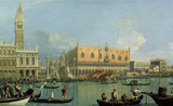 Ducal Palace, Venice Wall Decal by Canaletto