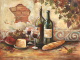 Bountiful Wine II Giclee Print by Gregory Gorham