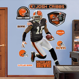 Josh Cribbs Xenith Wall Decal