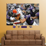 Ravens Defense Mural Wall Decal