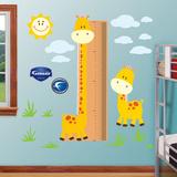 Growth Chart Giraffe Adhésif mural
