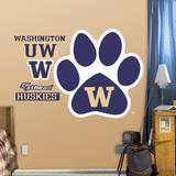 Washington Huskies Paw Logo Wall Decal Wall Decal