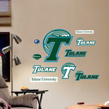 Tulane Jr. Logosheet Wall Decal