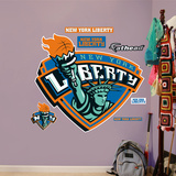 New York Liberty Logo   Wall Decal
