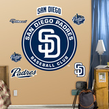 San Diego Padres 2012 Logo Wall Decal