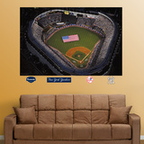 Old Yankee Stadium Aerial Mural Wall Decal