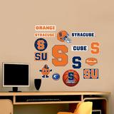 Syracuse Jr. Logosheet Wallstickers