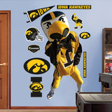 Iowa Herky Wall Decal
