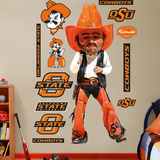 Oklahoma State Pistol Pete Wall Decal