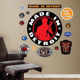 Made in Detroit Logo Wall Decal
