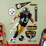 Troy Polamalu 2011 Edition Black Wall Decal