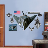 F-117 Nighthawk Wall Decal