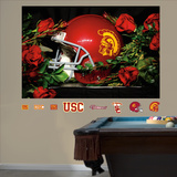 USC Roses Mural Wall Decal