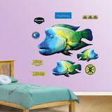 Humphead Fish Collection Wall Decal
