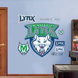 Minnesota Lynx Logo   Wall Decal