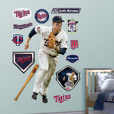 Justin Morneau &#160; Wall Decal