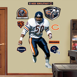 Chicago Bears Mike Singletary Wall Decal Sticker Wall Decal