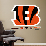 Cincinnati Bengals B Logo Wall Decal