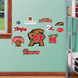 Maryland Jr. Logosheet Wall Decal