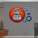 Georgetown University Basketball Logo   Wall Decal