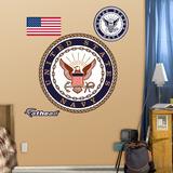 US Navy Insignia 2011 Kalkomania ścienna