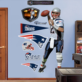 Tom Brady 2011 Edition White Wall Decal