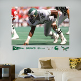 Reggie White Eagles Mural Wall Decal