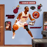 Chris Bosh &#160; Wall Decal