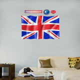 UK Flag - logo sized   Wall Decal