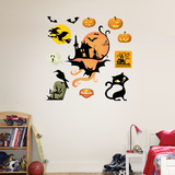 Halloween Icons Wall Decal