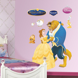 Beauty & the Beast Wall Decal Väggdekal