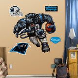 Carolina Panthers Die Cut RB Liquid Blue Wall Decal