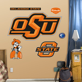 Oklahoma State Logo   Wall Decal