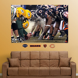 Bears-Packers Line of Scrimmage Mural Wall Decal