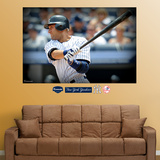 Derek Jeter Mural   Wall Decal