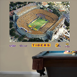 LSU Aerial Stadium Mural Wall Decal