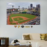 Pittsburgh Pirates PNC Park Stadium Mural   Wall Decal