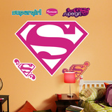 Supergirl Logo Autocollant mural
