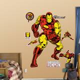 Classic Iron Man Wall Decal