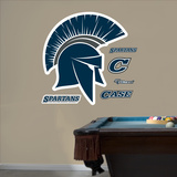 Case Western Logo Wall Decal