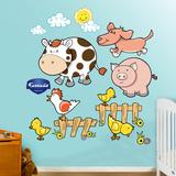 Farm Animals 1 Wall Decal