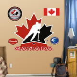 Team Canada Logo Wall Decal