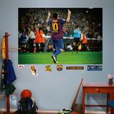 Lionel Messi Mural Vægplakat