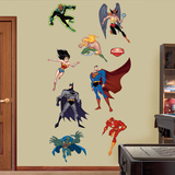 Justice League Cartoon Wall Decal