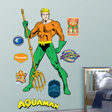 Aqua Man Wall Decal
