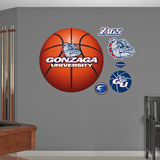Gonzaga Basketball Logo   Wall Decal