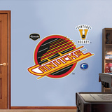 Vancouver Canucks Classic Logo   Wall Decal
