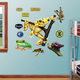 Golden Frog Wall Decal